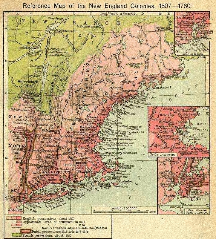 Topographic Map Of New England.New Page 1